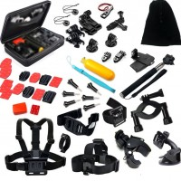 42-in-1 Accessory Bundle for GoPro with Storage Case