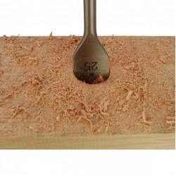 13 Piece Flat Wood Bit Set