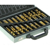 170pc Titanium Coated Drill Bit Set