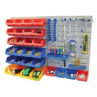 44 pcs Wall-mounted Storage Bin Rack