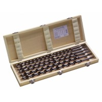 6pc Spur Auger Bit Set with wooden case