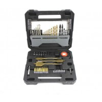 70pc Generic Steel Twist Drill Bit Set