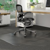 Clear Multitask PVC Office Chair Floor Mat