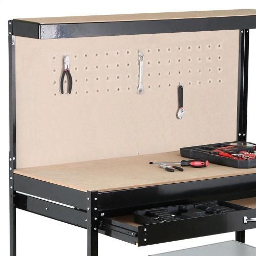 Stupendous Steel Garage Shelving Storage Workbench With Single Drawer Inzonedesignstudio Interior Chair Design Inzonedesignstudiocom