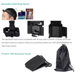 4-in-1 Accessories Combo Bundle Kits for Action Camera