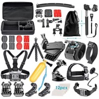 50pcs Combo Kit Accessories For Action Camera
