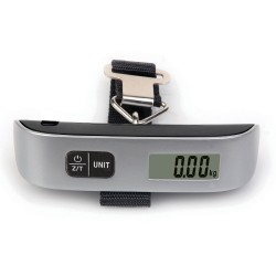 Electronic Luggage Scale with Thermometer
