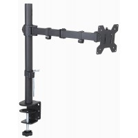 Fully Adjustable Single LCD Monitor Desk Mount Stand