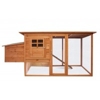 Wooden Chicken Coop XXXL 012s