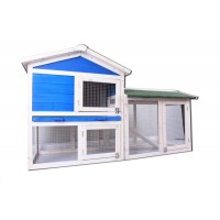 Rabbit Hutch Chicken Coop 069s
