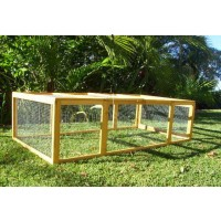 Rabbit Chicken Run Extension
