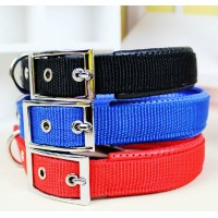 Dog Collar With Soft Leather S