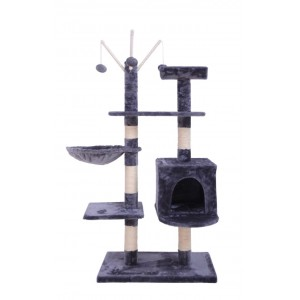 135CM Five Level Cat Tree Blue