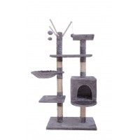 135CM Five Level Cat Tree Gray
