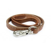 Leather Dog Leash Slip Lead