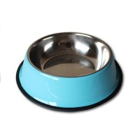 Stainless Steel Dog/Cat Anti Slip Food Water Dish