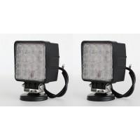 2 X48W LED Work Flood Light