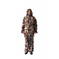 3D Woodland Camouflage Leaf Suit