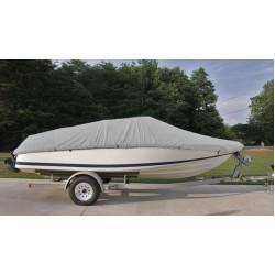 """Boat Cover Type E 20-22'x100"""" Gray"""