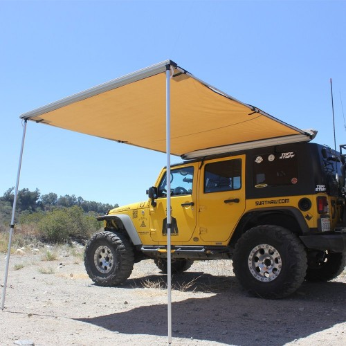 SUV Car Side Rooftop Pull Out Awning 140 X 200 Cm