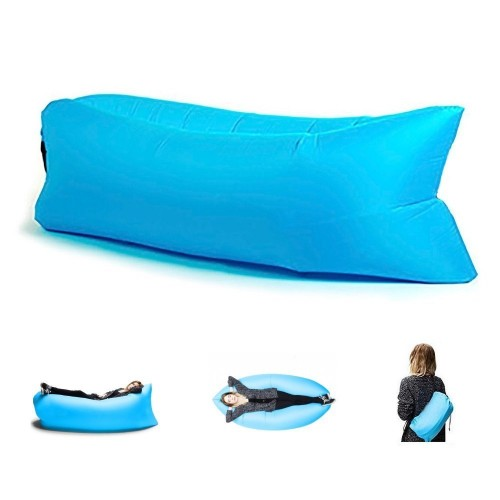inflatable lounger outdoor air sofa. Black Bedroom Furniture Sets. Home Design Ideas