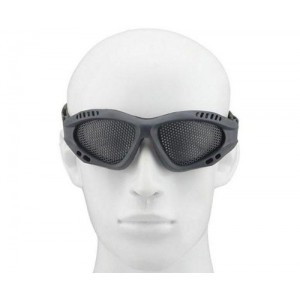 Tactical Equipment Metal Wire Mesh Airsoft Safety Goggle