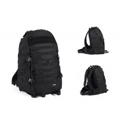 Tactical Strike Back Hiking Camping Trip Backpack Black