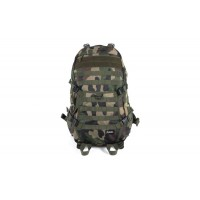Tactical Strike Back Hiking Camping Trip Backpack Woodland