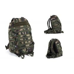 Tactical Strike Back Hiking Camping Trip Backpack Woodland