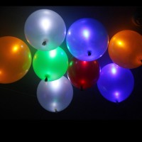 LED Light up Balloons 5 Mixed color