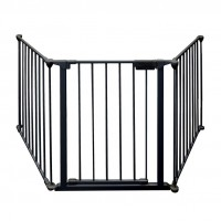 Foldable Baby Safety Fence Fire Gate 3pc