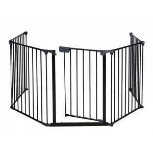 Foldable Baby Safety Fence Fire Gate 5pc