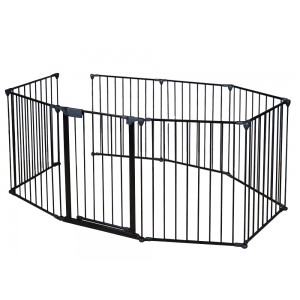 Foldable Baby Safety Fence Fire Gate 8pc