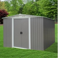 Garden Shed 3.1 x 2.5 x 2M FREE* FOUNDATION KITSET Gray
