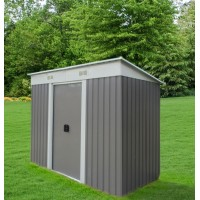 Garden Shed 1.2 x 1.9 x 1.8M FREE* FOUNDATION KITSET Gray