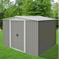 Garden Shed 2 x 2.5 x 2M FREE* FOUNDATION KITSET Gray