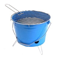 Bucket Portable Charcoal BBQ Grill