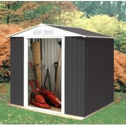 Charcoal Deavy Duty Garden Shed  2570mm x 2590mm