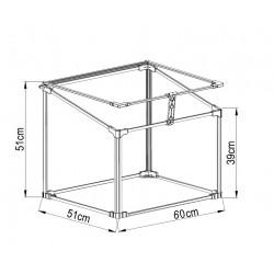 Mini Greenhouse 60 x 51x 51cm