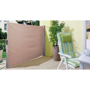 Retractable Side Awning 1.5x3M Sand