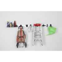 8 in 1 Fast Track Wall Organizer System