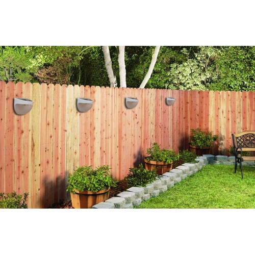 Super Bright Outdoor Solar Led Fence Lights X3
