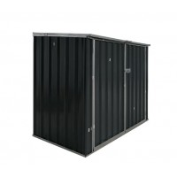 Metal Shed Storage Hinged Lid Swing Doors