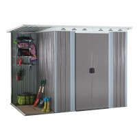Garden Shed With Side Storage 6' x 8'ft