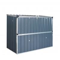 Metal Shed Storage Hinged Lid Lockable Doors