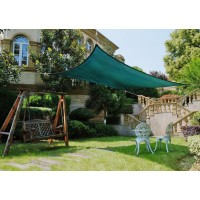 4m x 6m Sun Shade Sail-Green
