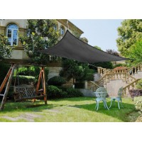 4m x 6m Sun Shade Sail-Gray