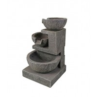 3 Level Bowl Outdoor Water Feature