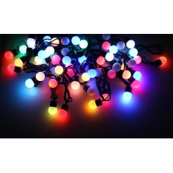 100 LED Solar String Ball Light
