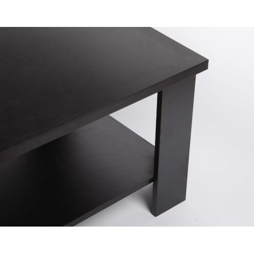 120 x 60 cm coffee table black for Coffee table 60cm